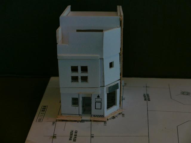 宇都宮市美容室troop店舗併用木造3階建て住宅