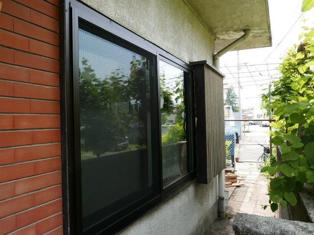 木製窓断熱リフォームafter