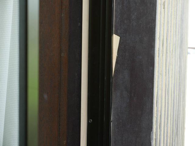 木製窓断熱リフォーム外部