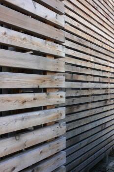 木製外壁材