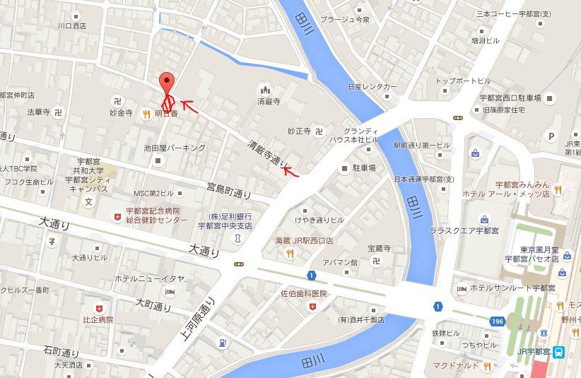 OPENHOUSE地図