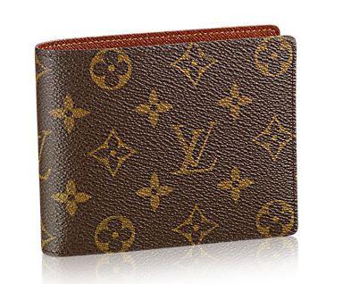 ルイヴィトン モノグラム 2つ折り財布