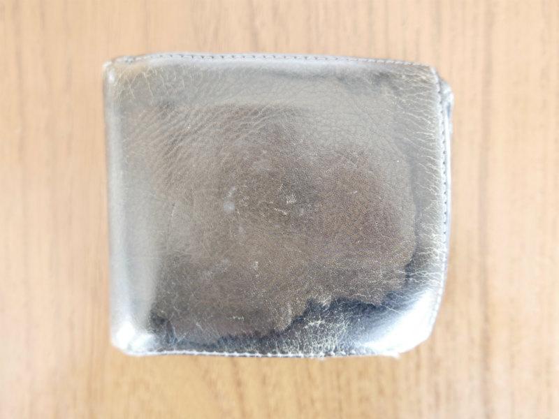 汗シミ財布