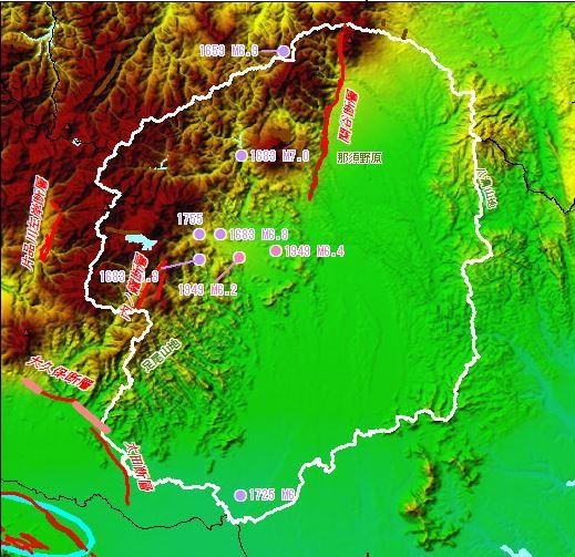 栃木県活断層